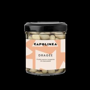 Dragée pistacchi cioccolato bianco Reggio Emilia